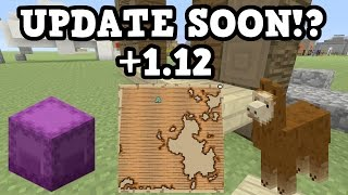 Minecraft Xbox One / PS4 NEW UPDATE SOON!? + 1.12 News