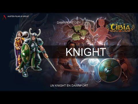 Tibia - ¿Qué es un Knight en Dawnport? HD