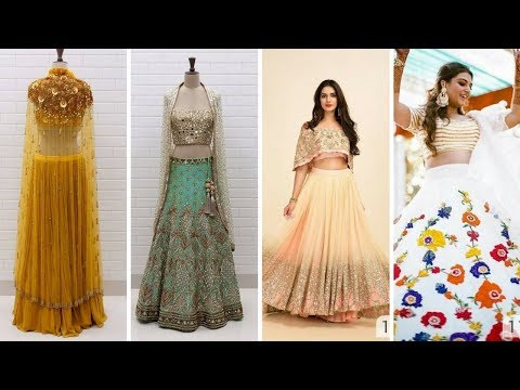 Top 20 Simple And Beautiful Lehenga Choli Designs For Girls #Lehenga Choli Designsqe