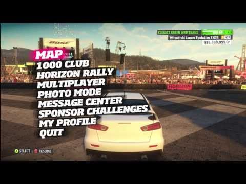 How to mod Forza Horizon (Cr Money. Level Ristbands. Unicorn and Traffic Cars) *NEW*