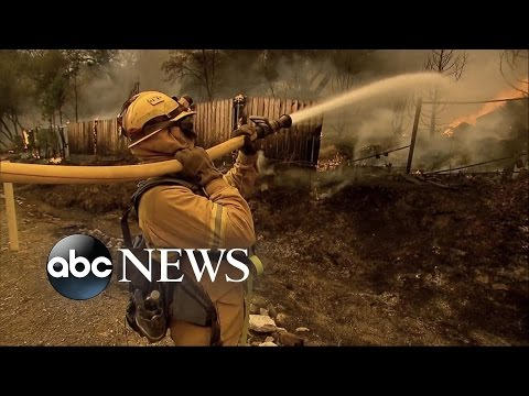 California Wildfires Force Evacuations for More Residents