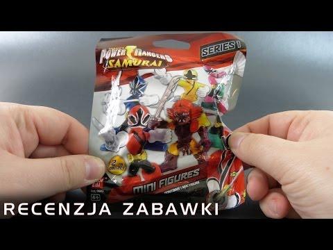 Tajemniczy Wojownik Mocy z Saszetki - polska recenzja zabawki - Power Rangers Samurai Seria 1