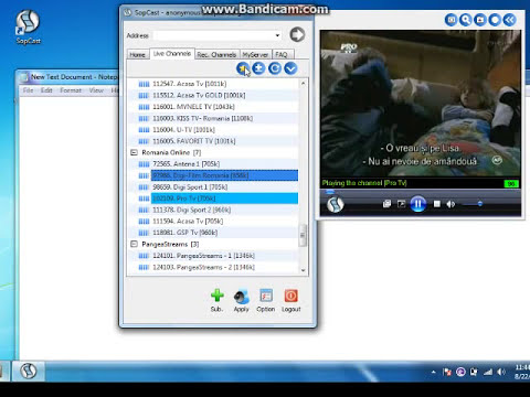 Sopcast, cel mai bun program de tv online fara browser
