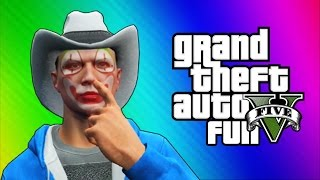 GTA 5 Next Gen Funny Moments - 3D Titans, Motorcycle Challenge, Tank Rodeo!