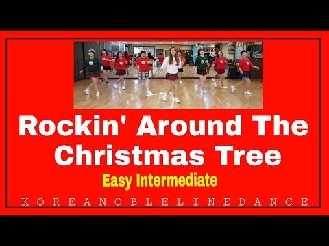 Rockin' Around The Christmas Tree Line Dance (Easy Intermediate)윤은희 Eun Hee
