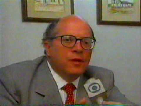 BRIGA NO PACAEMBU 1995 (São Paulo x Palmeiras): Jornal Nacional