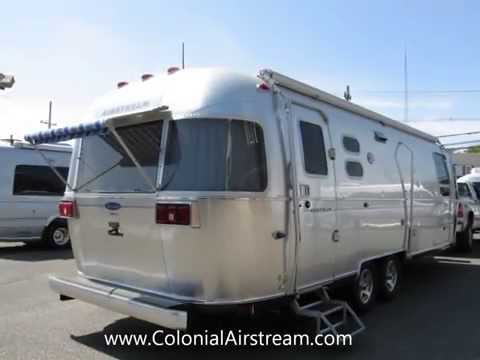 2014 Airstream Classic Limited 27FB Twin Golden Travel Trailer Dealer