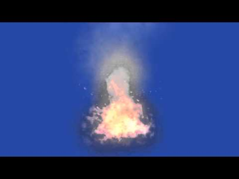 BONFIRE- BLUE SCREEN
