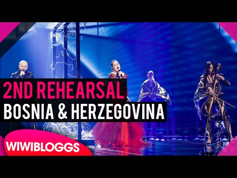 "Second rehearsal: Deen & Dalal feat. Jala and Ana Rucner ""Ljubav je"" (Iceland) 