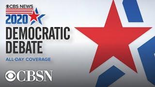 Watch live: CBS News Democratic debate