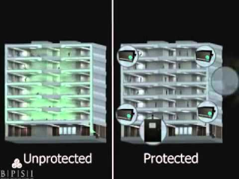 How an Office Building Can be Protected from a Chlorine Gas Attack from Outside the Building