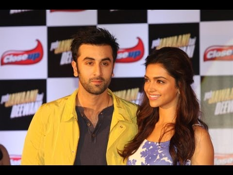 Ranbir Kapoor & Deepika Padukone At Close Up Event For YJHD