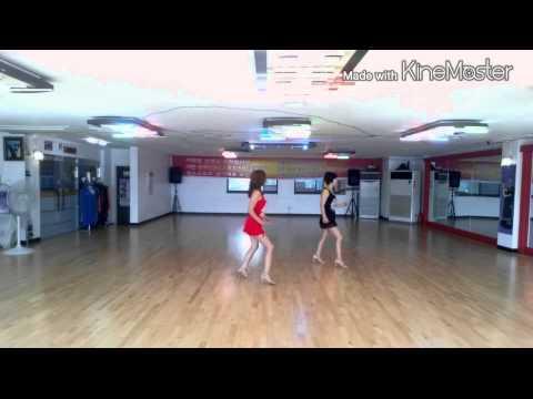 Women in love line dance