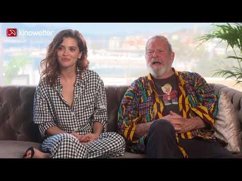 Interview Joana Ribeiro & Terry Gilliam THE MAN WHO KILLED DON QUIXOTE