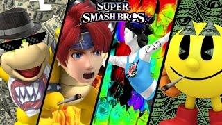 More Super Smash Bros TOP 5 MLG Trailers - Roy, Pac-Man & More (Wii U)