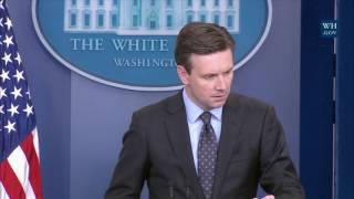 1/12/17: White House Press Briefing