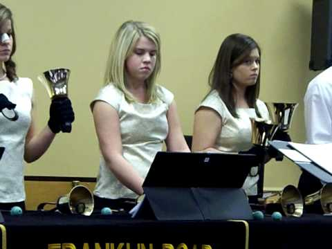 Franklin Road Christian School Sr. High handbells Furioso in C minor - 01/31/2009