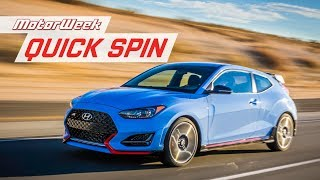 2019 Hyundai Veloster N | Quick Spin