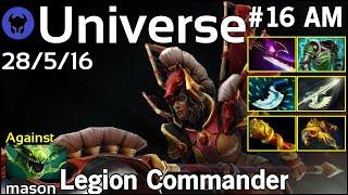 Universe [FWD] plays Legion Commander!!! Dota 2 7.22