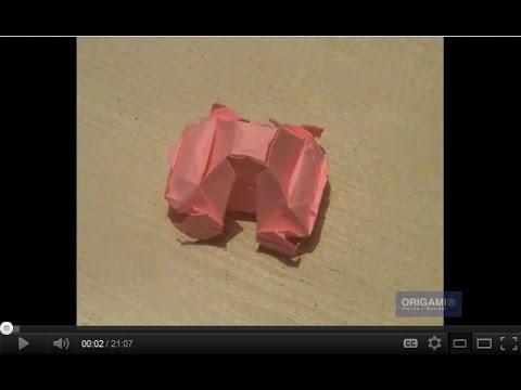 Оригами машина схема - Оригами