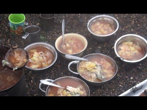 Обрушаем кулинарные традиции - Борщуха / Cuisine's customs get out - Borsch with fish