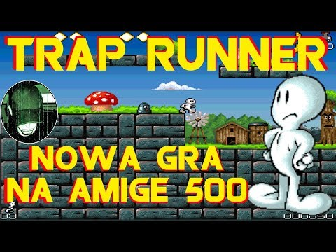 Trap Runner - Bardzo Nowa Gra Na Amigę :). Gram W Grę #164