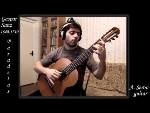 Gaspar Sanz - PARADETAS  FROM 5 DANCES