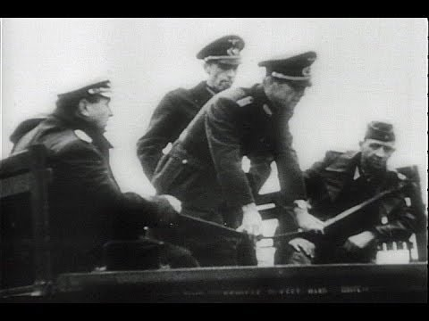 HD Historic Archival Stock Footage WWII - War News From North Africa 1943