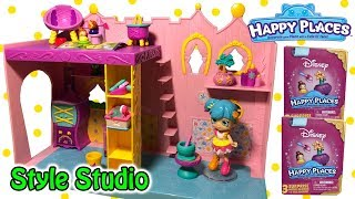 Disney Happy Places Rapunzel's Style Studio Playset With Exclusives + Season 2 Disney Blind Bags