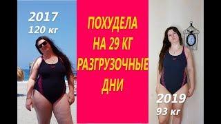 Похудела на 29 кг Разгрузочные дни при похудении или Почему я не делаю разгрузочные дни