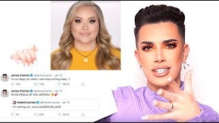 JAMES CHARLES REACTS TO NIKKIE TUTORIALS COMING OUT AS TRANSGENDER!