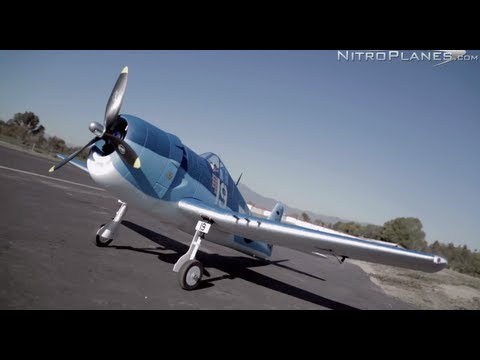 New 2013 Dynam F6F Hellcat Warbird