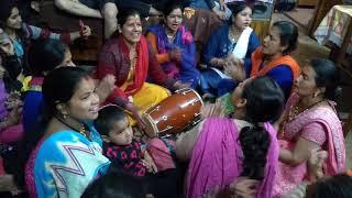 हनुमान जयंती स्पेशल । नाचो मेरी बजरंगी तुम्हें राम को रिझाना है। //उत्तराखंड भक्ति संगीत//लीला जोशी।