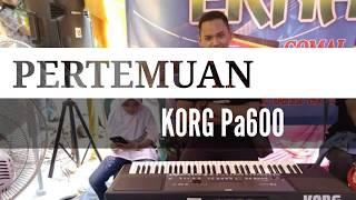 PERTEMUAN karaoke lirik cover KORG pa600
