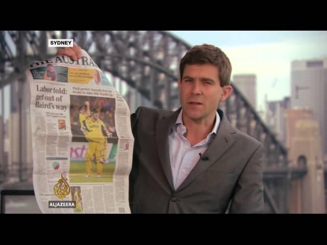Australians rejoice after World Cup cricket win