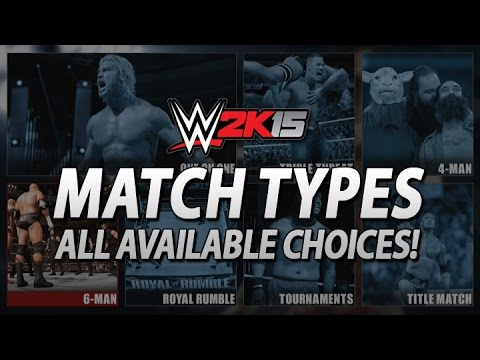 Wwe 2k15: All Next-gen Match Types, Title Matches Extremely Limited! video