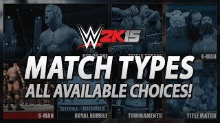 WWE 2K15: All Next-Gen Match Types, Title Matches Extremely Limited!
