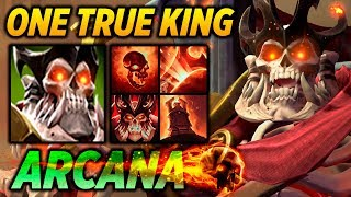 WRAITH KING ARCANA - ONE TRUE KING - Dota 2 Highlights TV