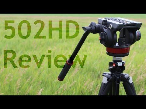 Manfrotto 502HD Tripod Head Review