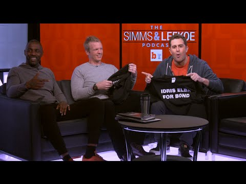 The Simms & Lefkoe Podcast: Idris Elba Says He Shouldn't Be The Next James Bond