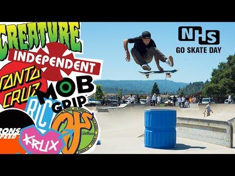 NHS Go Skateboarding Day 2017