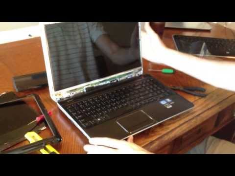 How to Replace Laptop Screen: HP dv6 7000 Select Series