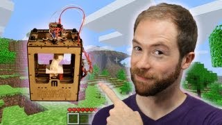 Will Minecraft and Makerbot Usher in the Post-Scarcity Economy? | Idea Channel | PBS