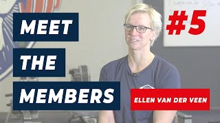 Meet the members Ellen van der Veen| JHS-Fitness