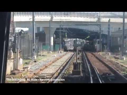 TheMBTADog: MBTA Blue Line Ride - State Street to Wonderland (2015-04-23)