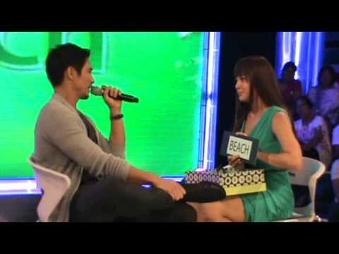 KC CONCEPCION  and PIOLO PASCUAL    D`BUZZ 5-29-11 BTS