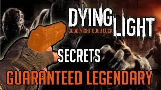 Dying Light Secrets | High Chance Legendary Weapon Chest Location Tutorial