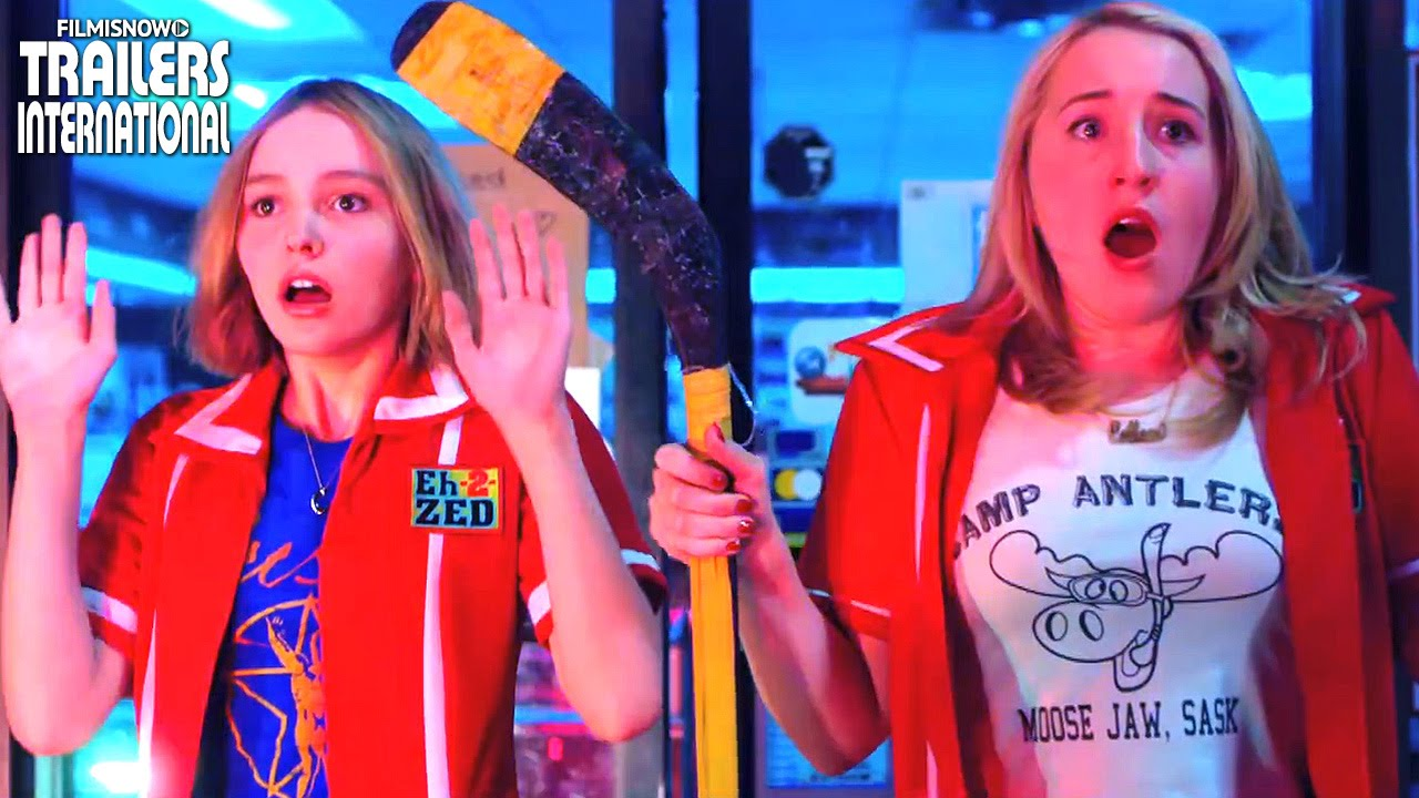 YOGA HOSERS ft. Johnny Depp, Lily Rose Depp | Official Trailer [HD]