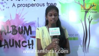 Keerthana At Virutchum Album Launch