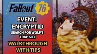 Fallout 76 – Event Walkthrough – Encryptid With Strategic Tips - Wild Appalachia DLC Event
